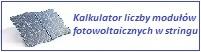 Kalkulator liczby modułów fotowoltaicznych