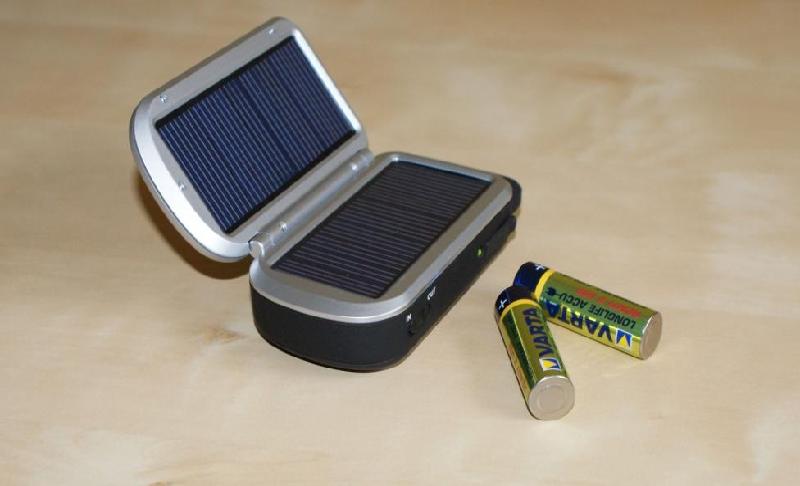 Solarne ładowarki akumulatorków