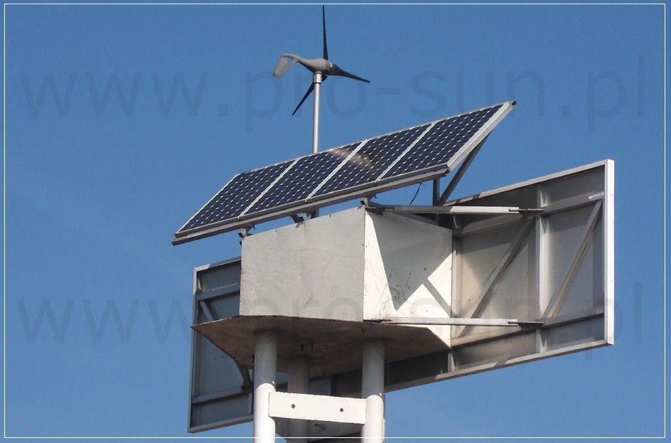 Zestawy autonomiczne solarne