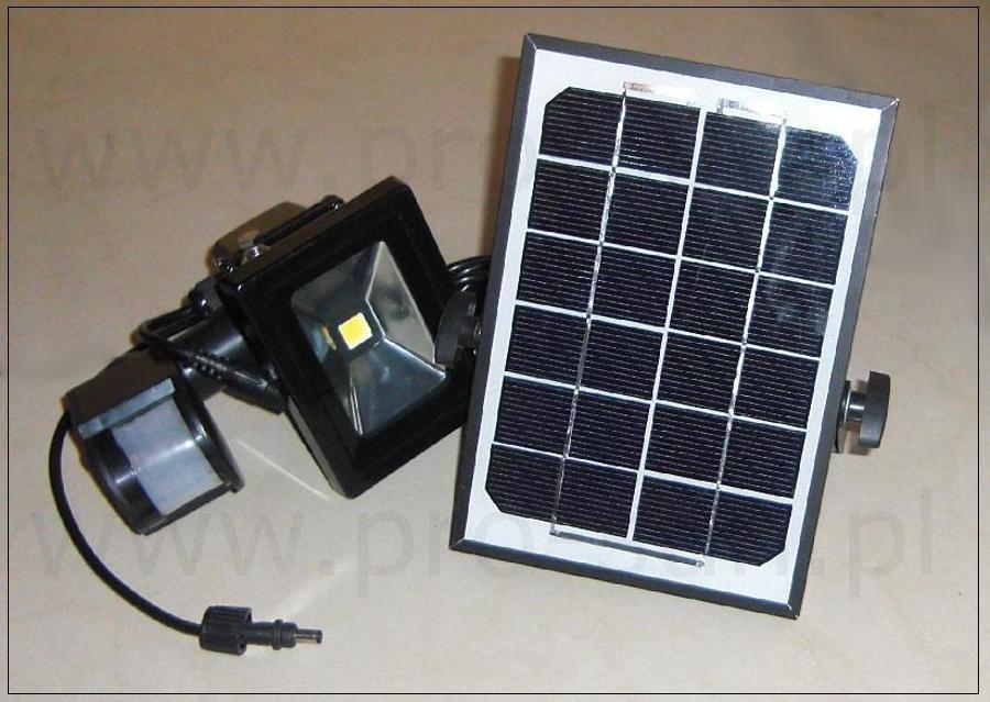 Lampa solarna zewnętrzna