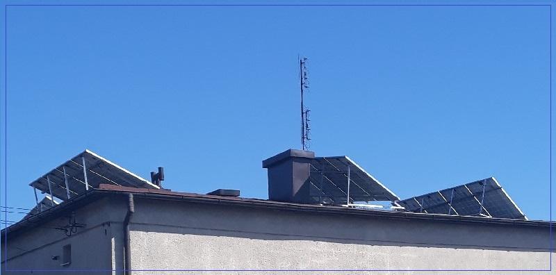 Instalacja PV na dachu kopertowym